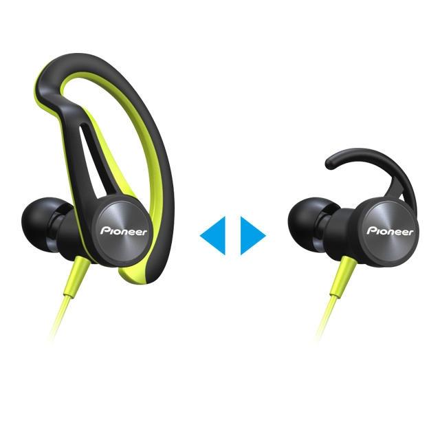 パイオニア Bluetoothスポーツイヤホン 耳からはずれにくい設計